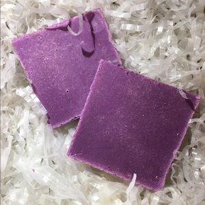 Shave cream bar soap / Sparkling Plum